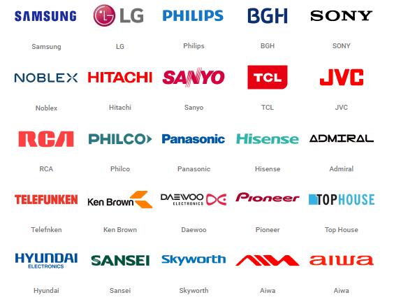 marcas de tv